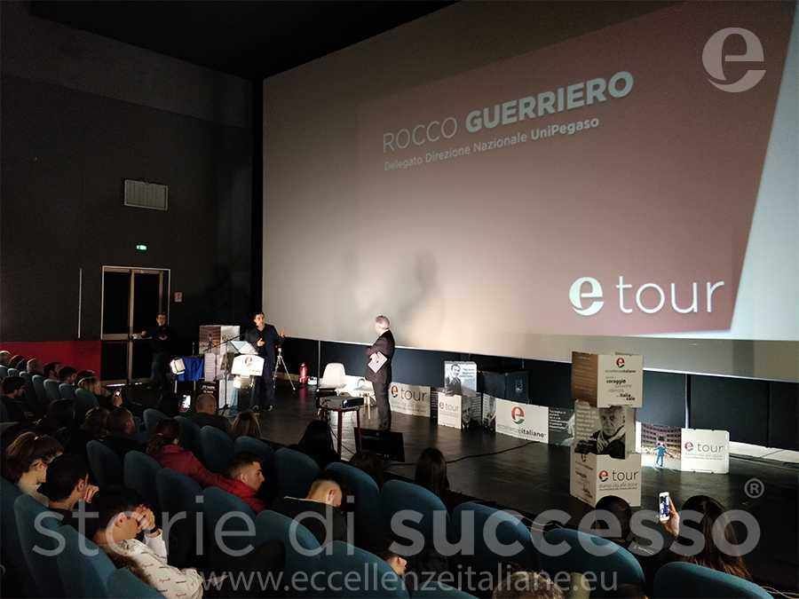 Rocco Guerriero, delegato direzione nazionale Università telematica pegaso ETour Piraino