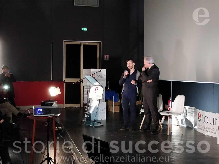 Rosario Amato di cantine Amato e Piero Muscari - Etour piraino ottava tappa