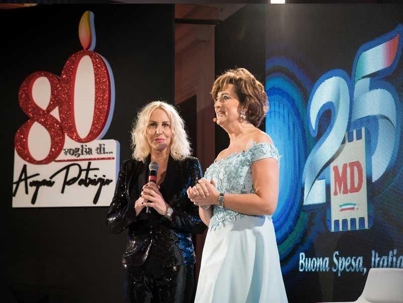 Antonella Clerici e Anna Campanile - 80 anni Podini e 25 anni Md