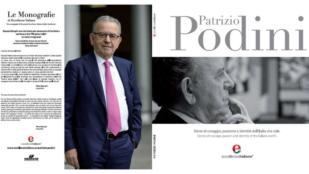 copertina e retrocopertina della Monografia di Patrizio Podini