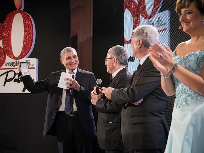 da sinistra: Patrizio Oliva, Patrizio Podini, Piero Muscari e Anna Campanile.