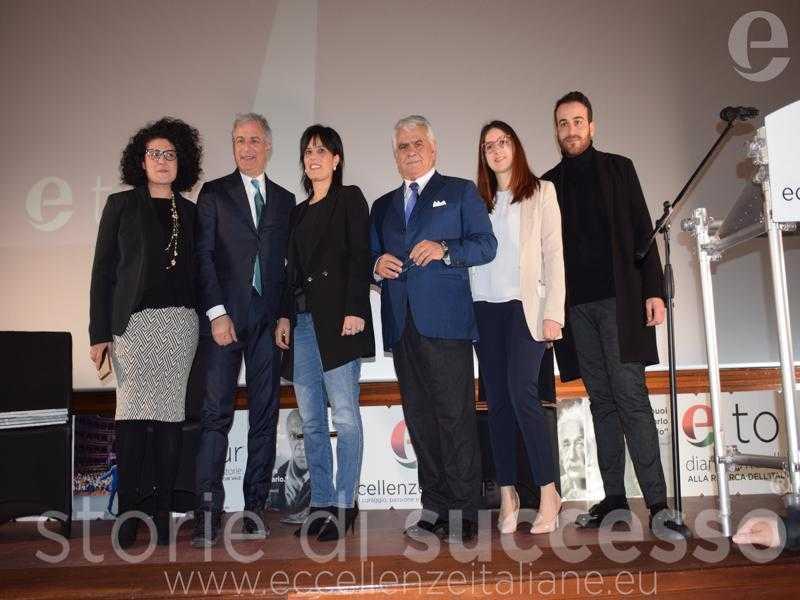 Da Sx: Giovanna Trovato, Piero Muscari, M. Antonietta Calabrò, Sebastiano Buglisi, Salvatore Impollino