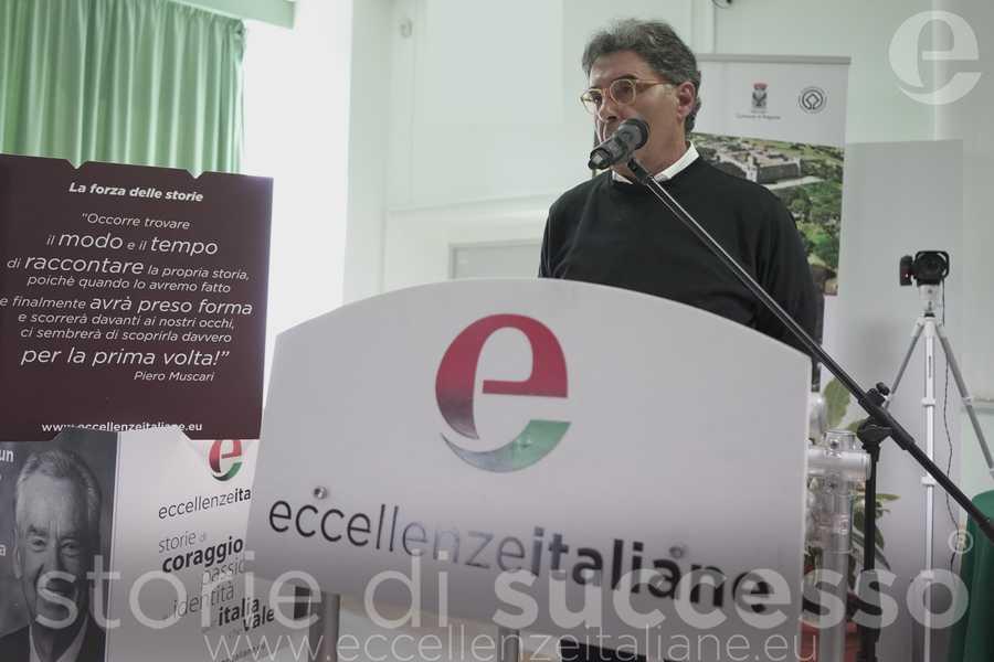 Luciano Caruso di A.bio.med. durante il suo intervento a Etour