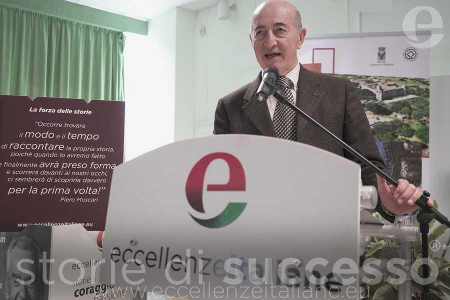 Paolo Roccuzzo, Presidente Avis di Ragusa durante il suo intervento