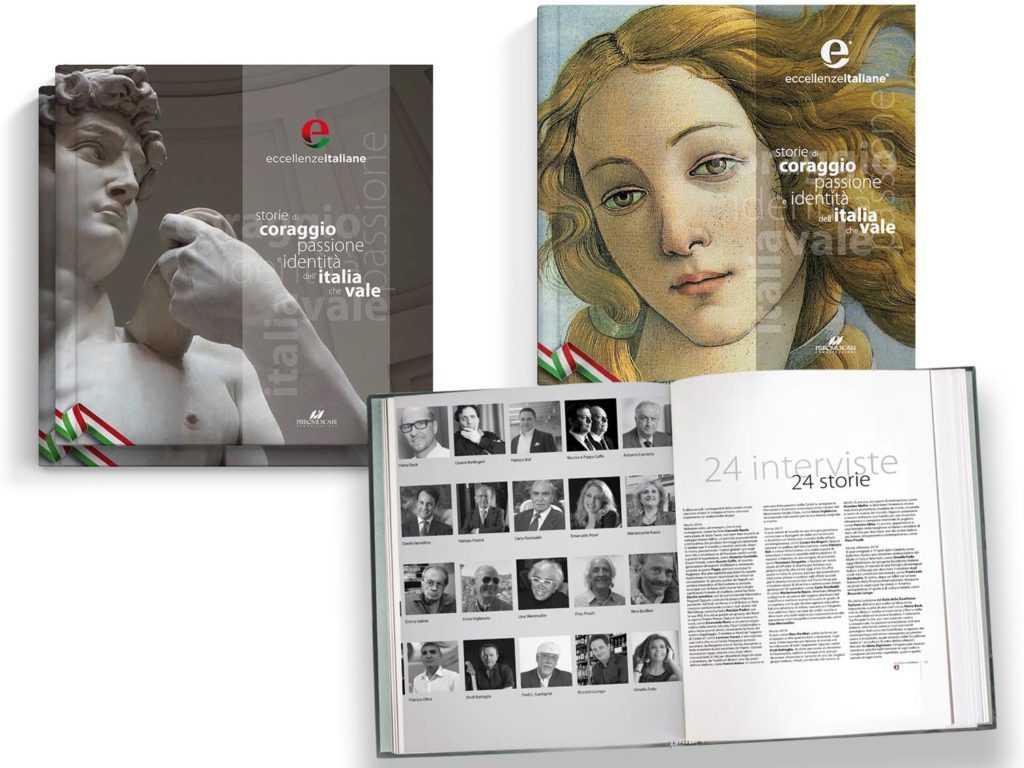 Eccellenze italiane copertine tre edizioni vers2 Eccellenze Italiane