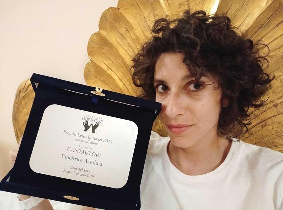 Caterina Comeglio e il Premio Lelio Luttazzi 2019 Eccellenze Italiane