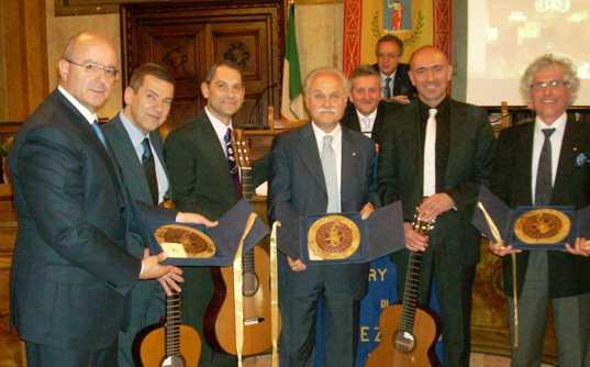 """Rotary Club Avezzano: meritato riconoscimento al """" Trio Cardoso"""""""
