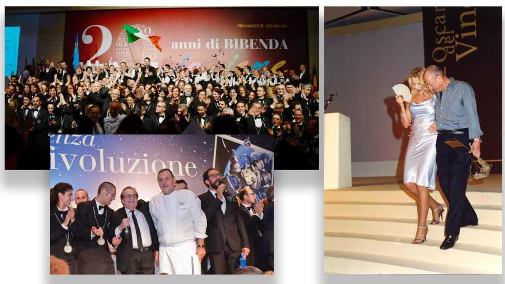 20 anni bibenda oscardelvino2014 primo oscardelvino 1999 valeriamarini e Gino veronelli Eccellenze Italiane