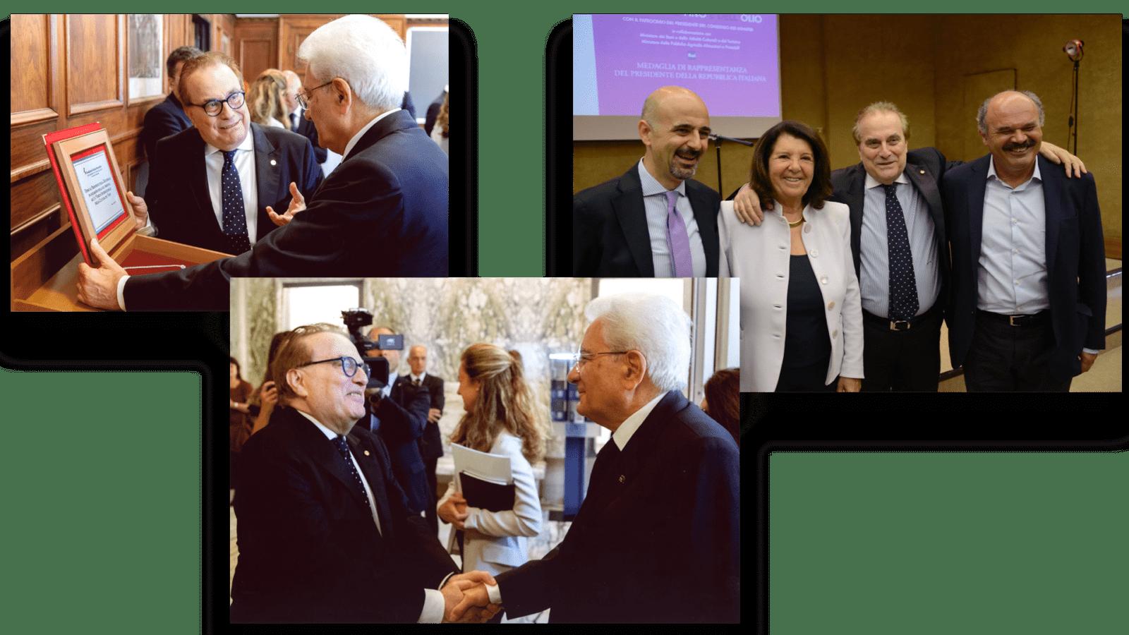 Franco ricci e istituzioni Eccellenze Italiane