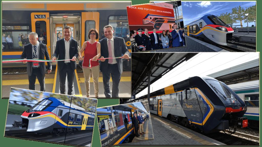 Trenitalia treni Rock e Pop Inaugurazioni con Orazio Iacono Eccellenze Italiane