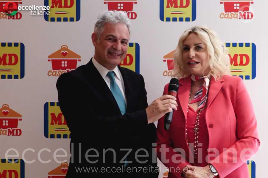 Antonella Clerici e Piero Muscari a margine della conferenza