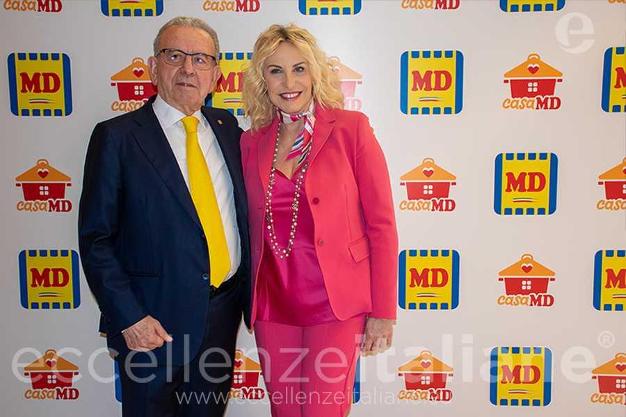 Patrizio Podini e Antonella Clerici