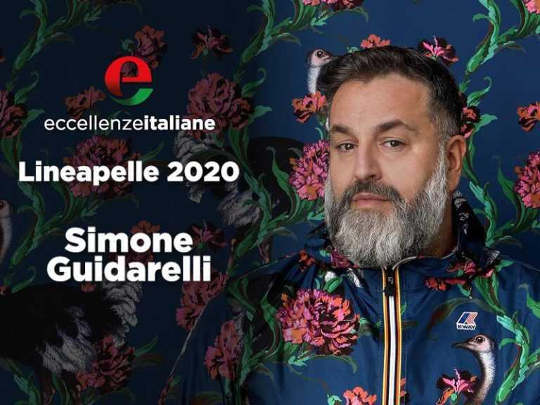 Simone Guidarelli e la sua collezione di carte da parati a Lineapelle 2020