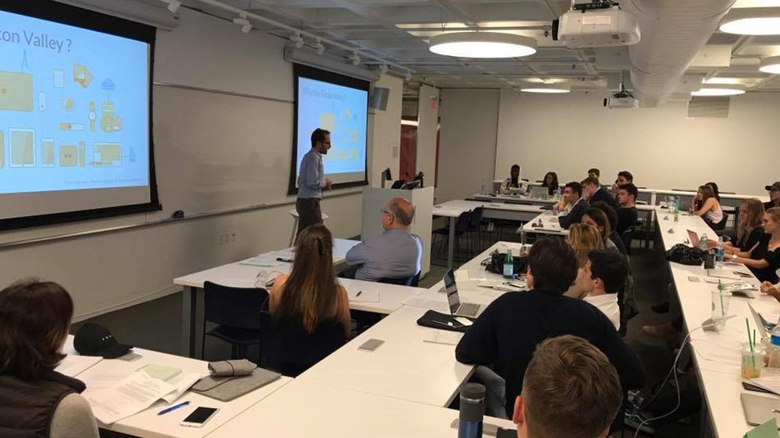 Silvio sangineto e la sua classe a Silicon Valley
