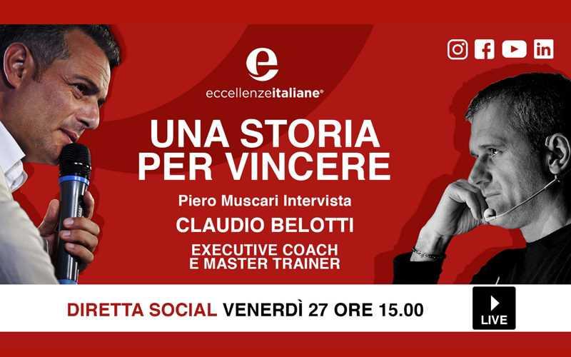 Claudio Belotti: una storia per vincere! Una storia per crescere!