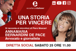 Annamaria Bernardini de Pace - una storia per vincere - live 25 aprile