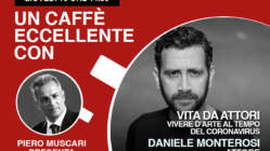 Daniele Monterosi un caffè eccellente - live del 16 aprile
