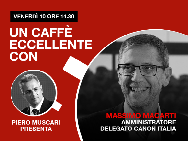 Massimo Macarti:un caffè eccellente.Live venerdì 10 Aprile h 14-30