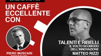 Matteo Rizzi è l'ospite di Piero Muscari nella diretta di lunedì 20 Aprile