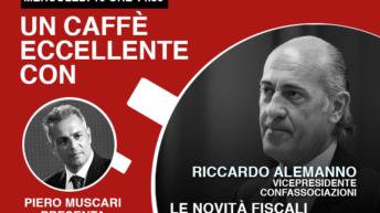 Riccardo Alemanno: un caffè eccellente. Live 15 Aprile ore 14-30.