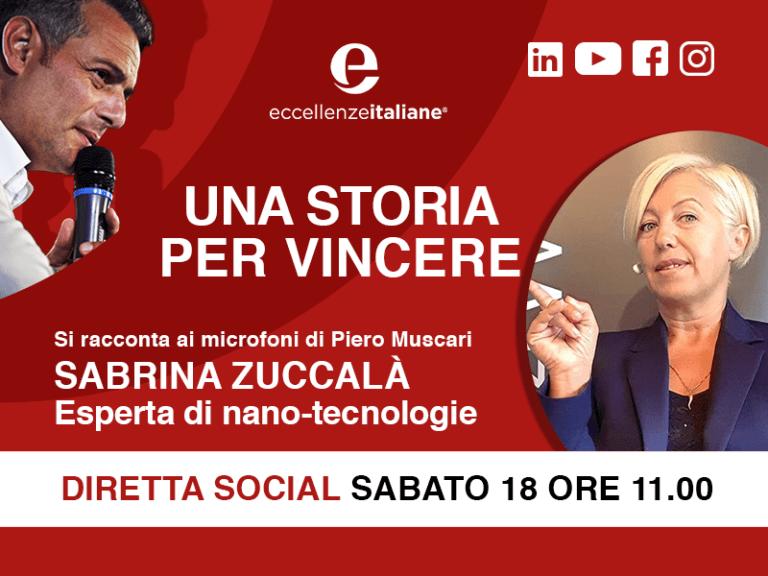 """Sabrina Zuccalà, founder e amministratore di 4ward360, è l'ospite """"una storia per vincere"""" di Piero Muscari nella diretta di sabato 18 aprile, alle ore 11."""