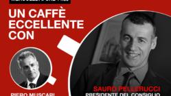 Sauro Pellerucci: un caffè eccellente. Live mercoledì 8 Aprile ore 14-30.