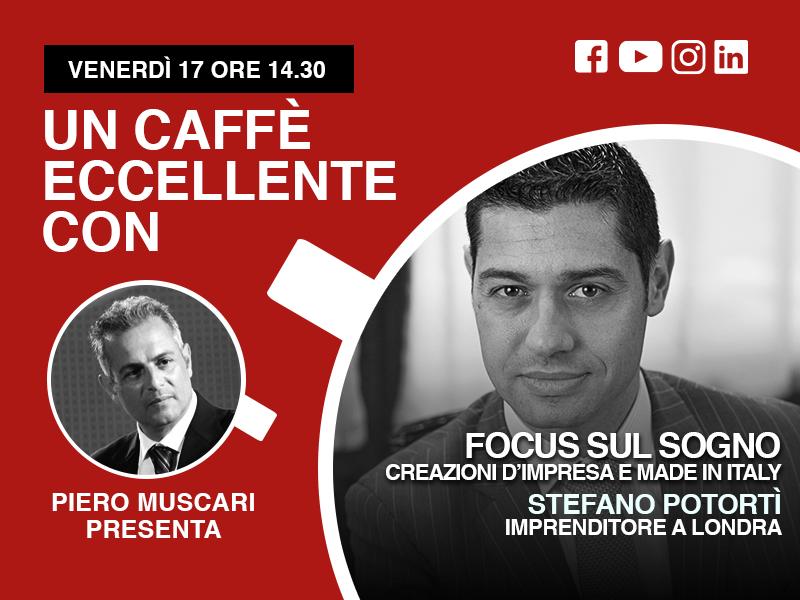 Stefano Potortì- un caffe eccellente - live del 16 Aprile ore 14-30
