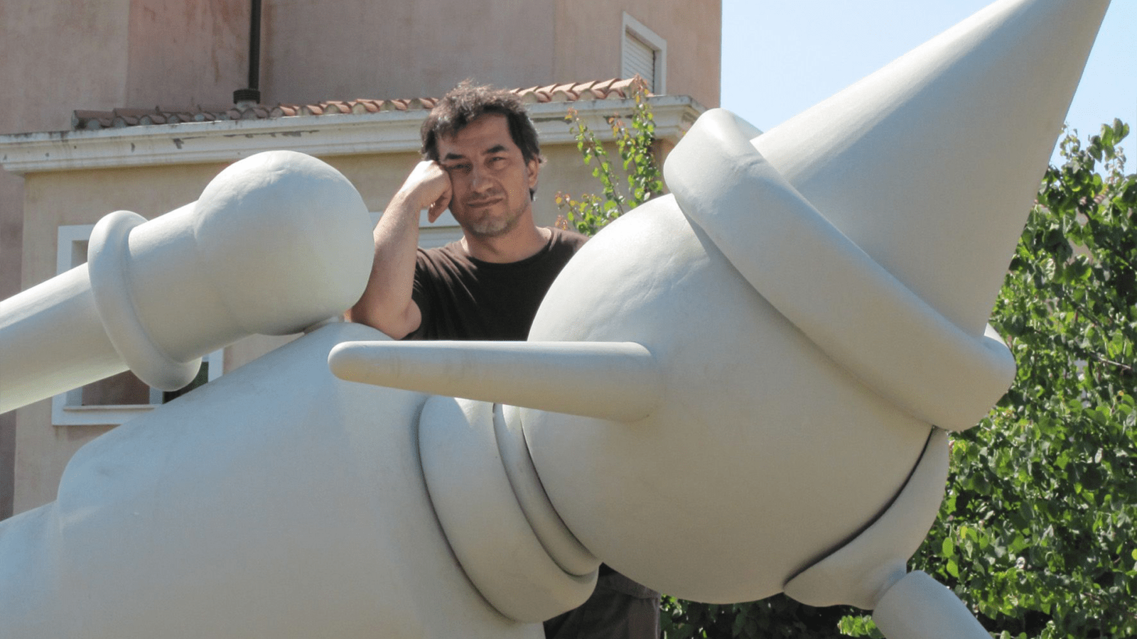 Alex pinna scultore italiano