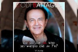 """Dodi Battaglia si racconta in un audiolibro """"Lo sai che sei meglio da vivo che in tv?"""""""