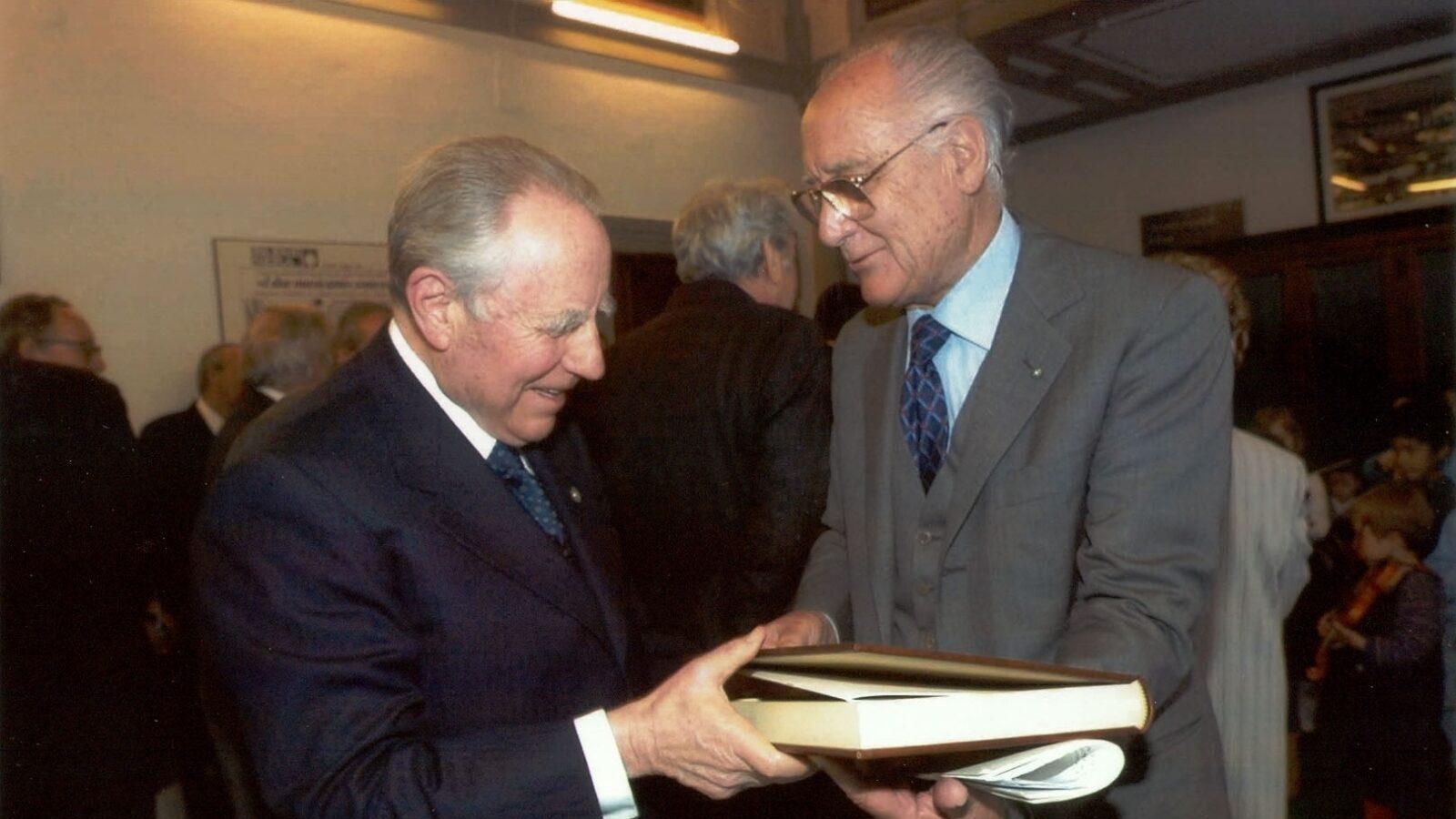 Vittorio Emauele Rimbotti ed il Presidente della Repubblica Carlo Azeglio Ciampi Eccellenze Italiane