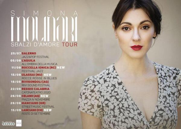 Simona Molinari torna nella sua terra con il concerto a Celano  Blog