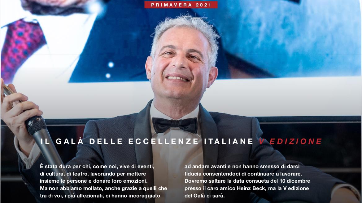 Gala 2020 Piero Muscari Eccellenze Italiane