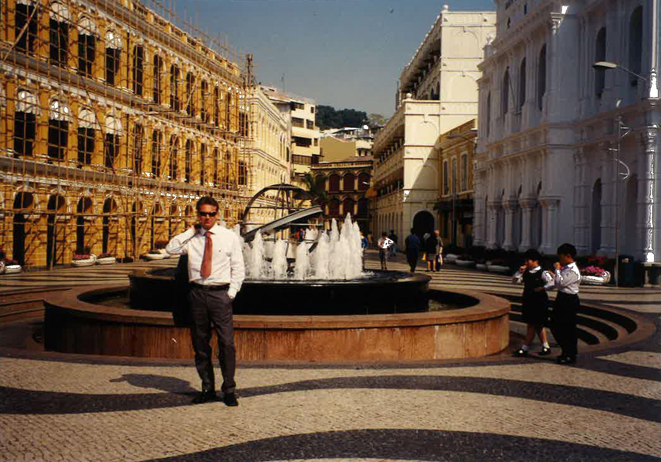 Aldo Cingolani, viaggio a Macao