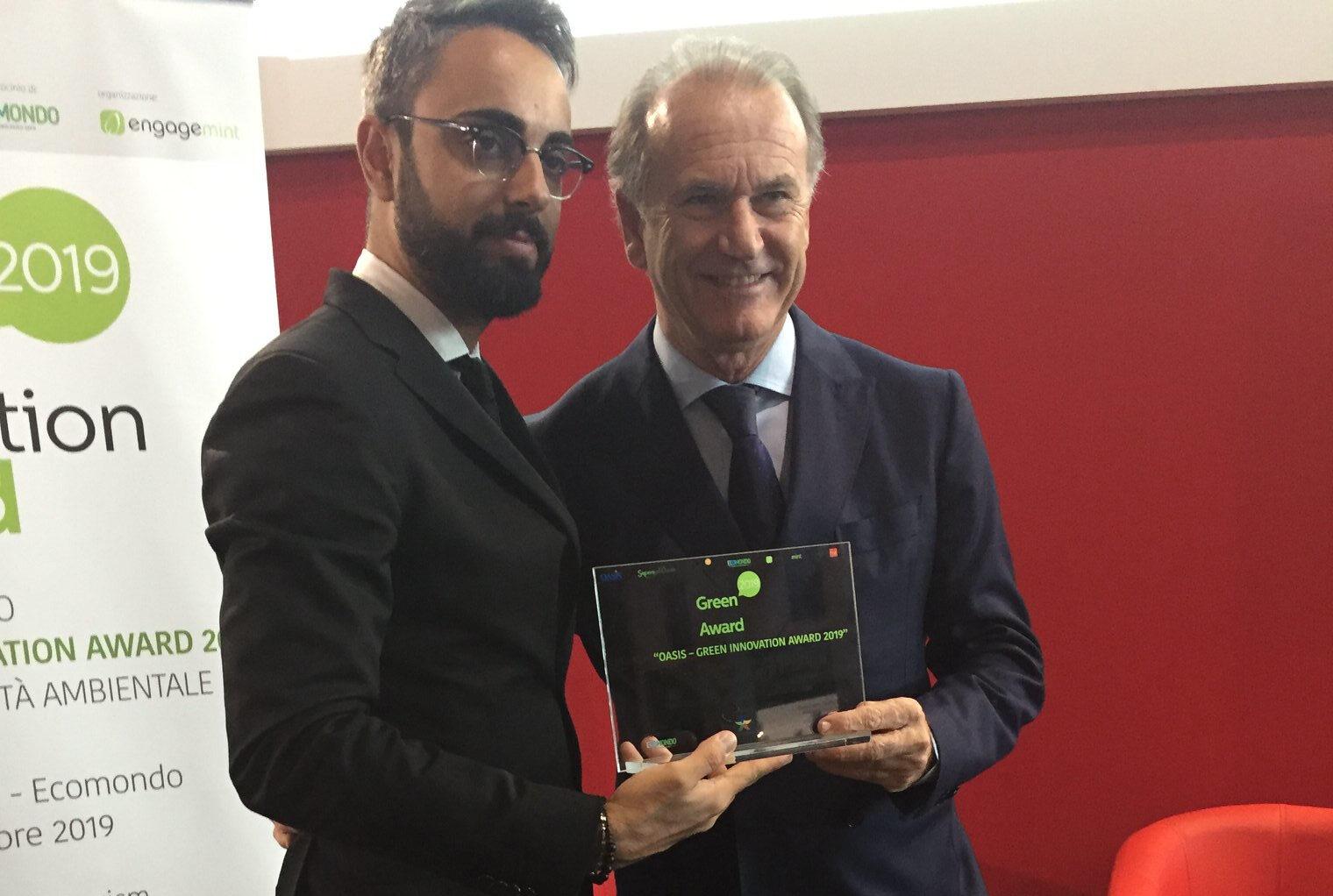 Aldo Cingolani Premio Sostenibilità
