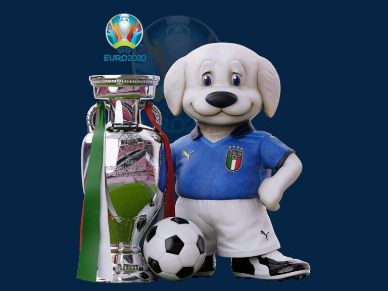 La Mascotte della Nazionale creata da Carlo Rambaldi