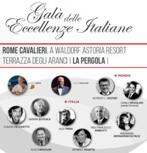 Galà Delle Eccellenze Italiane 2021