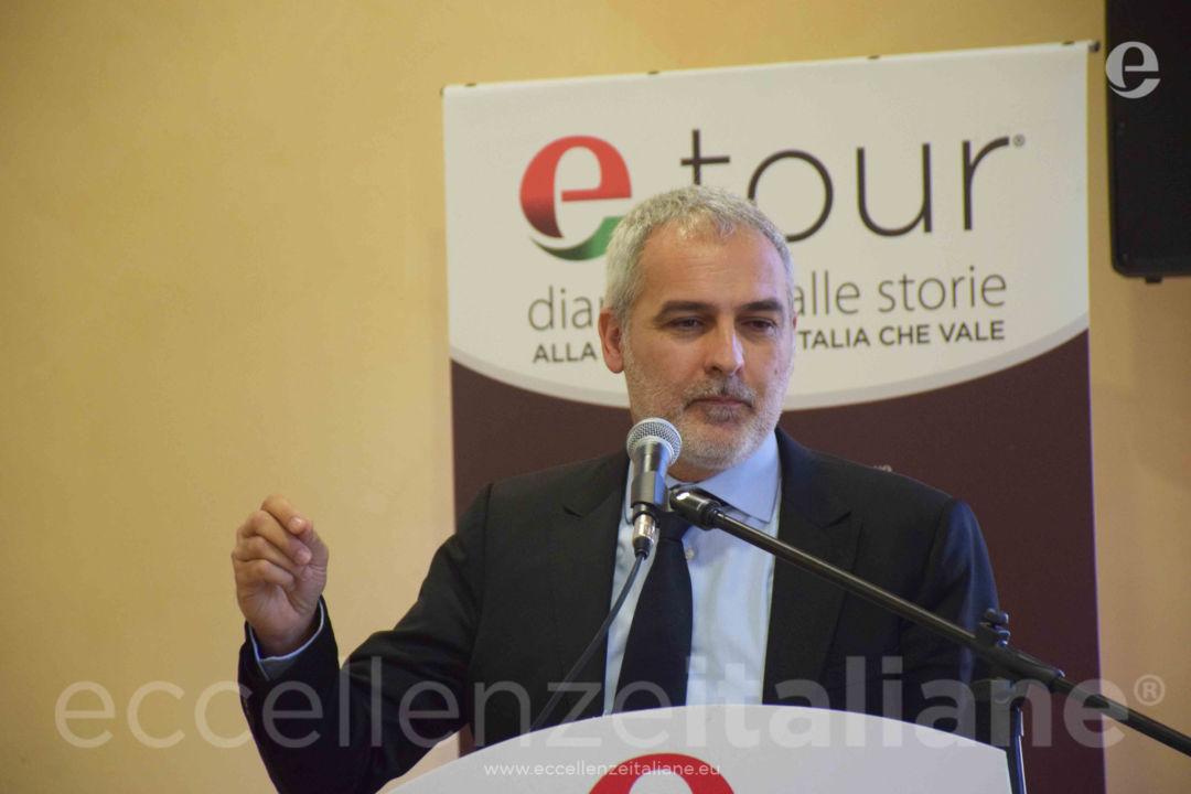 Davide Borra durante il suo intervento