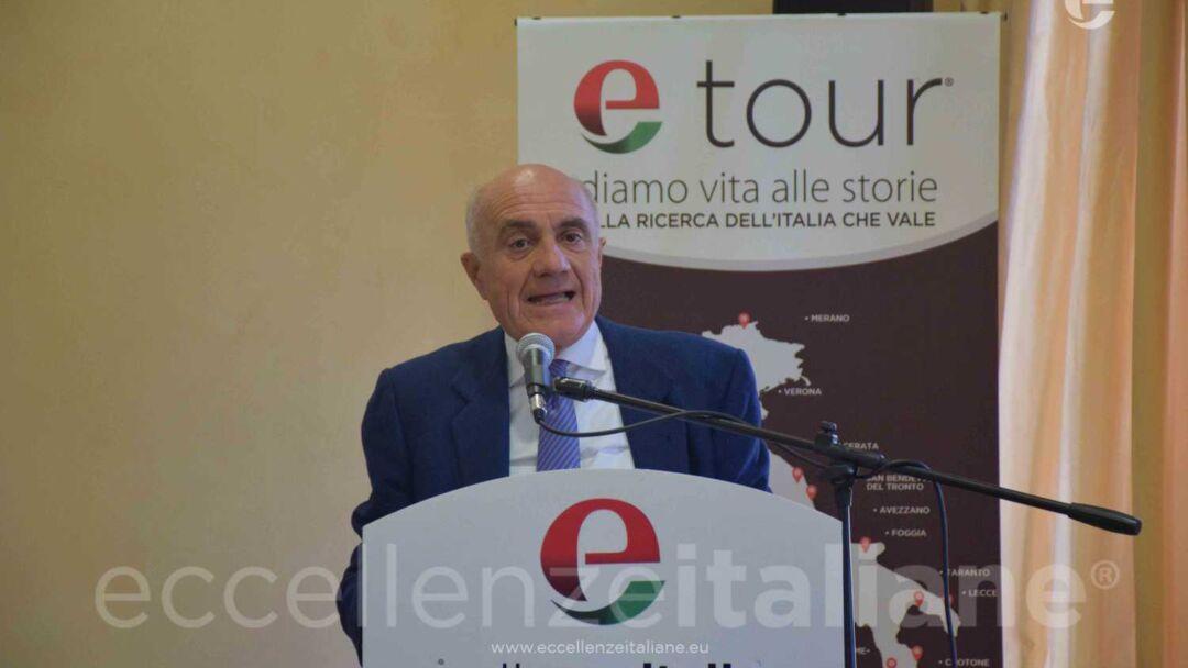 Mario Bonfanti, durante il suo intervento ad #etour Torino.