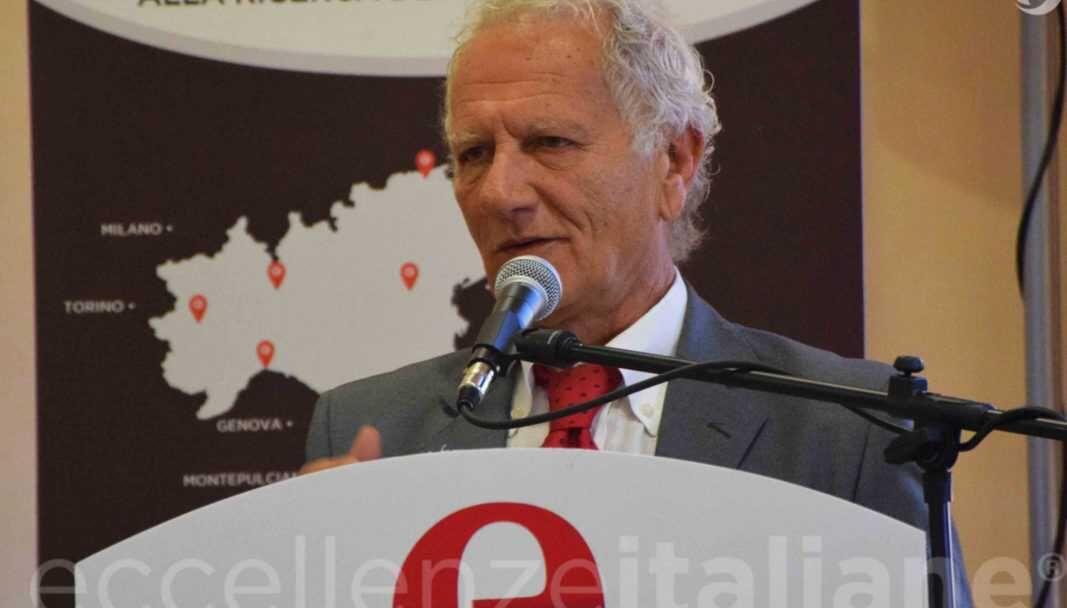 Piero Abbruzzese, durante il suo intervento ad etour Torino.