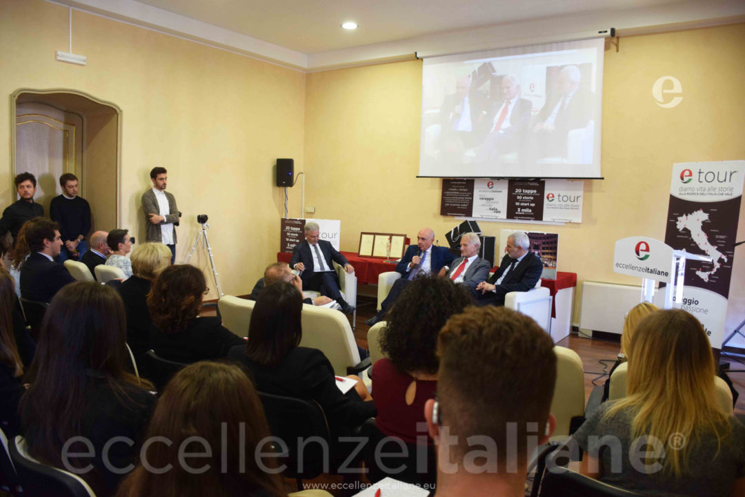 da sx: Muscari, Bonfanti, Piero Abbruzzese e Davide Borra