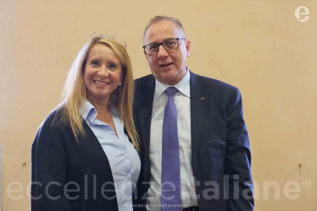 Claudia Pintus e Saverio Saverio Delli Paoli