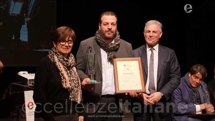 Andrea Bordini del Birrificio Montepulciano e Piero Muscari