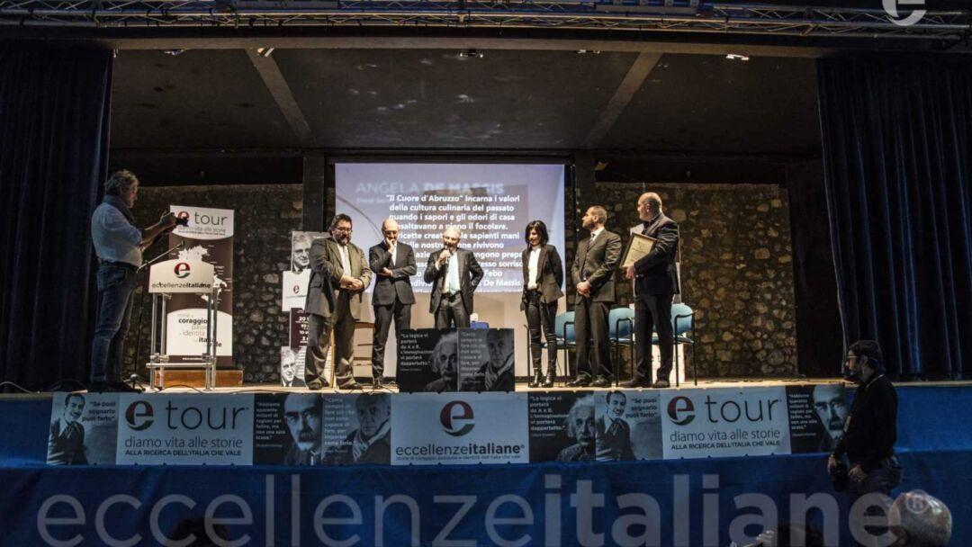 DA SX: Di Carlo, Ottombrino, Muscari, Maurizio, de Massis, di Genova
