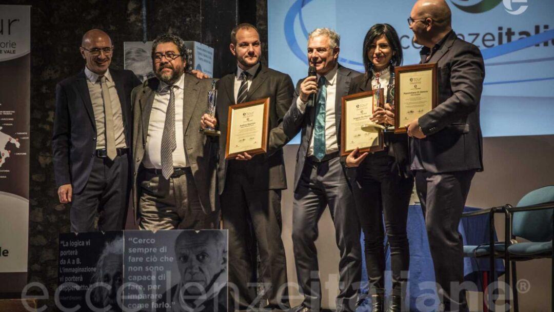 Da sx: Ottombrini, Di Carlo, Maurizio,Muscari, de Massis e Di Genova