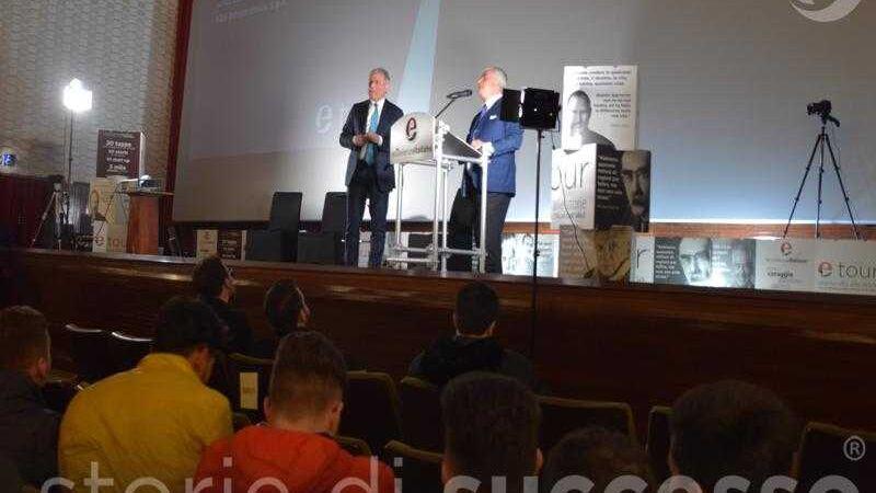 Piero Muscari e Sebastiano Buglisi sul Palco Etour