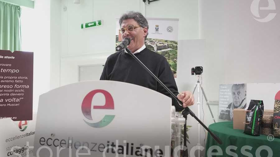 Luciano Caruso di A.bio.med. durante il suo intervento