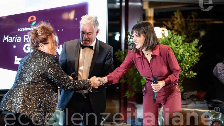 Maria Rosaria Gianni, Piero Muscari e Simona Molinari al Gala delle Eccellenze Italiane