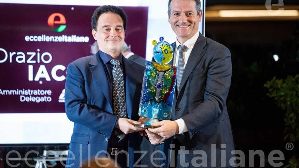 Foto di Rito Orazio Iacono e Riccardo Longo - Premio Eccellenze Italiane 2019