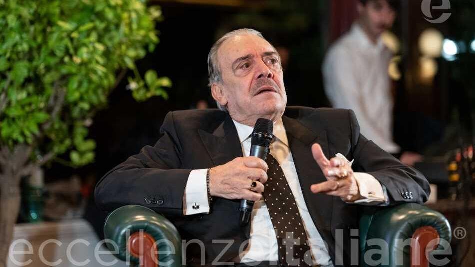 Rino Barillari al Gala delle Eccellenze Italiane