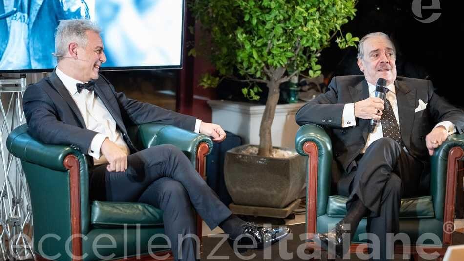 Rino Barillari e Piero Muscari - Galà delle Eccellenze Italiane 2019